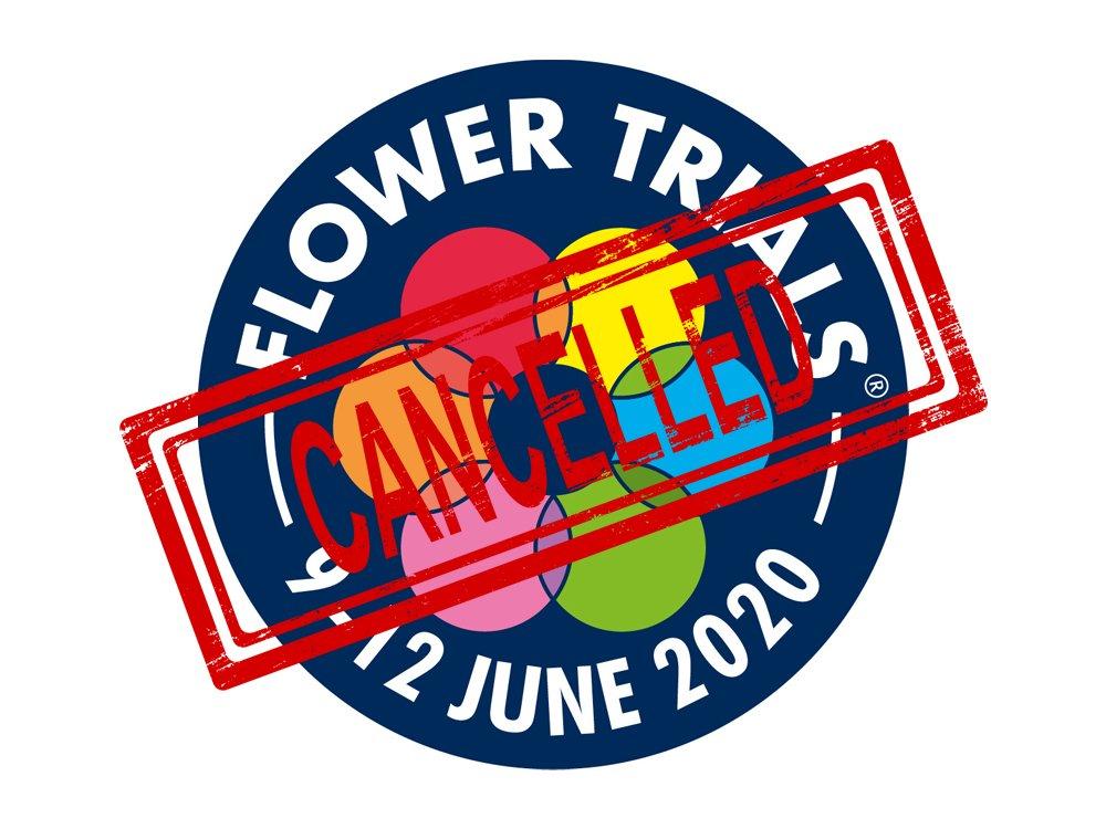 Flowertrials 2020 Cancelled